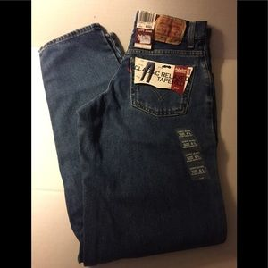 NWT Women's/Misses 550 Relaxed Tapered Jeans 6Long